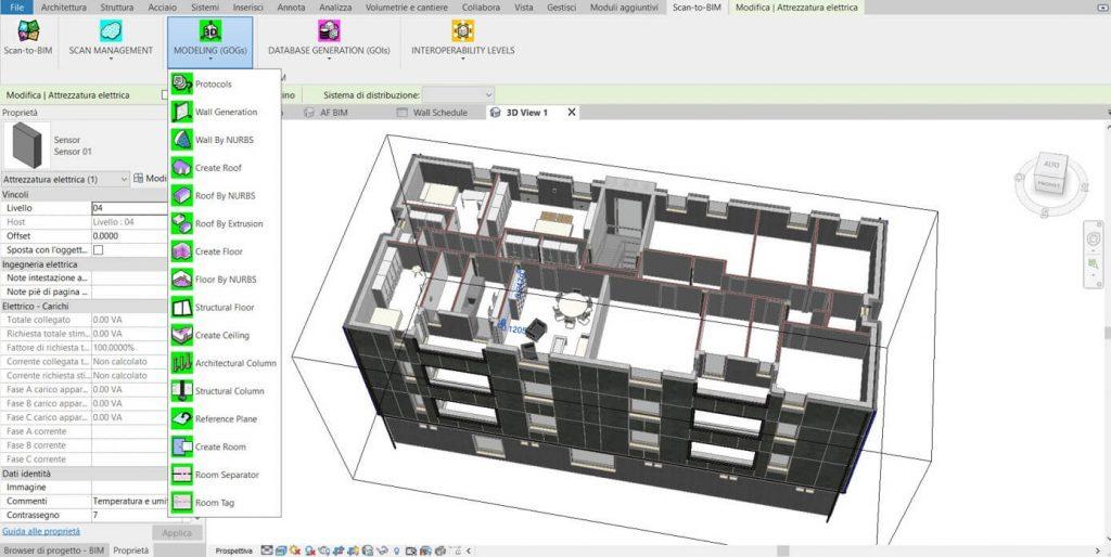 Plugin aggiuntivo per la generazione BIM con Revit - screenshot 3